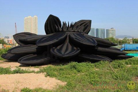 В Гонконге открылась выставка надувных скульптур