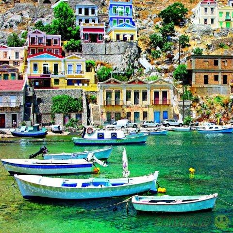 Родос - остров чудес, умиротворения и гармонии