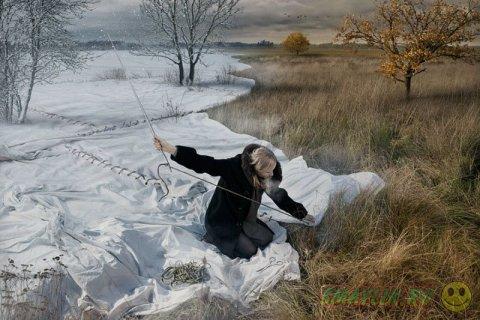 Работы фотохудожника Эрика Йоханссона