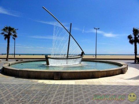 Фонтан «Фуэнте-дель-Барко-де-Агуа»  в Испании