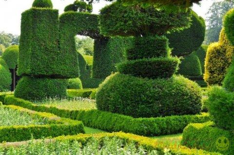 Прекрасные сады Левенс Холла