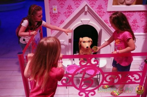 Проект Barbie Dreamhouse Experience в Берлине