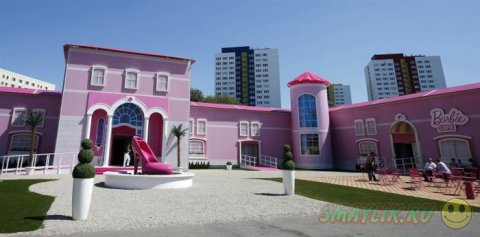 Проект Barbie Dreamhouse Experience в Берлине