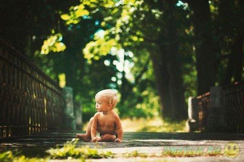 Художественные фотографии малышей  от Юлии Отто