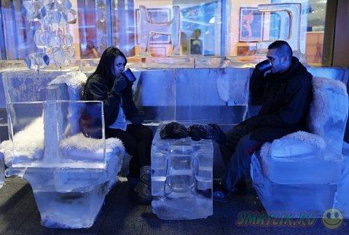 В Дубае открылось самое холодное в мире кафе