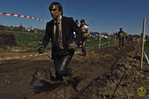 «Грязный бег» в Казани
