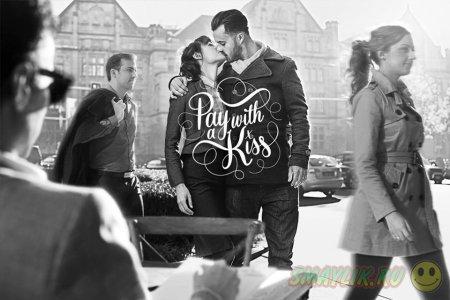 В кафе в Сиднее за выпитый кофе расплачиваются поцелуями
