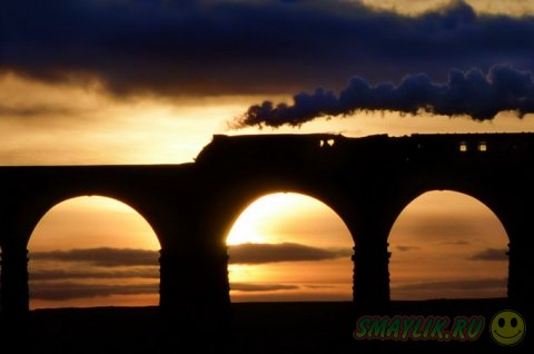 Поезда и железные дороги в фотографиях от Robin and Taliesin Coombes