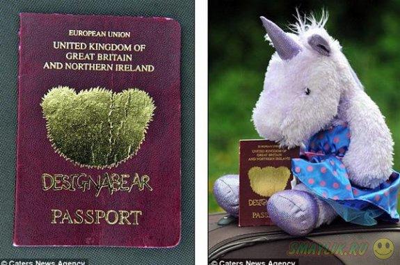 В турецком аэропорту девочка прошла таможенный досмотр по паспорту мягкой игрушки