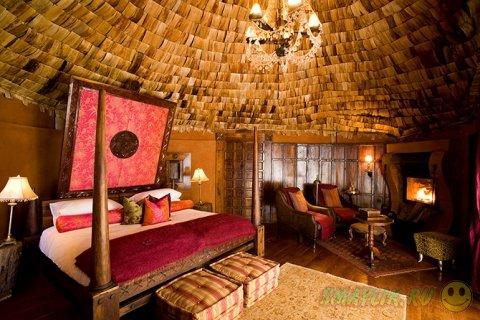 Отель Ngorongoro Crater Lodge: в окружении дикой природы