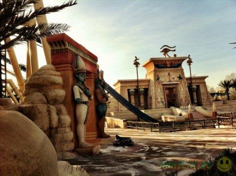 Парк развлечений Asterix в окрестностях Парижа