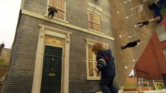В Лондоне  можно прогуляться по стенам дома викторианской эпохи