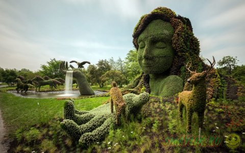 Выставка садово-паркового искусства в Канаде