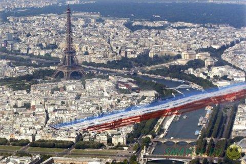 Париж - город контрастов