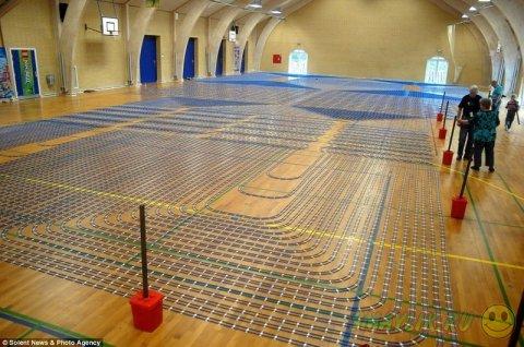 В Дании построили самую  длинную игрушечную железную дорогу из LEGO