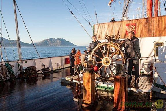 Крупнейшее в мире парусное судно «Седов» вернулось из кругосветного плавания