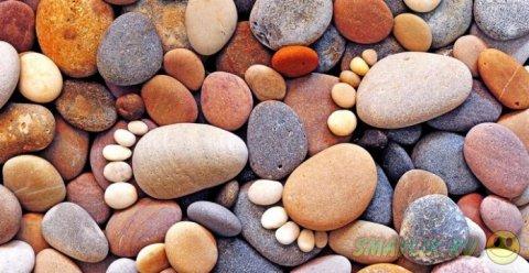 Арт-снимки  Иэна Блейка - «Каменные следы»