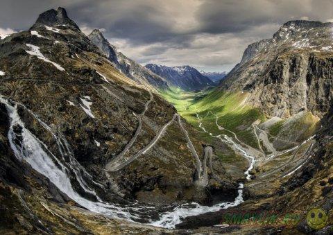 Пейзажи Норвегии в фотографиях HITTHEROAD