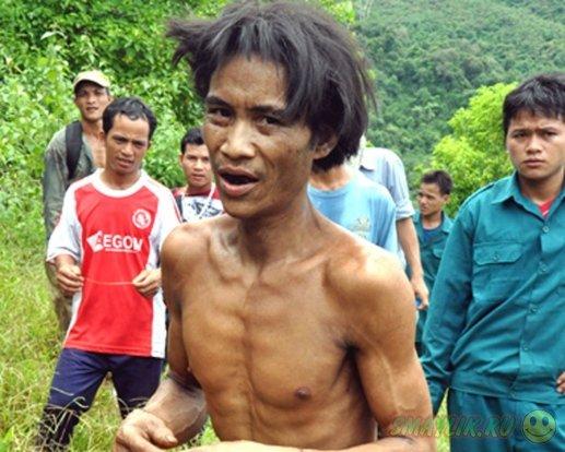 Потерявшиеся в джунглях Вьетнама мужчины 40 лет прожили вне цивилизации