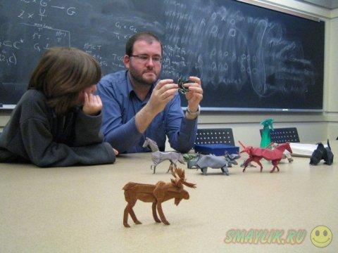 Авторские оригами-модели Брайана Чана