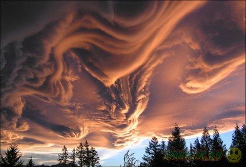 Красивая подборка фотографий облаков