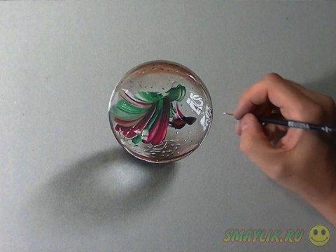 Гиперреалистичные рисунки обычных вещей от Marcello Barenghi