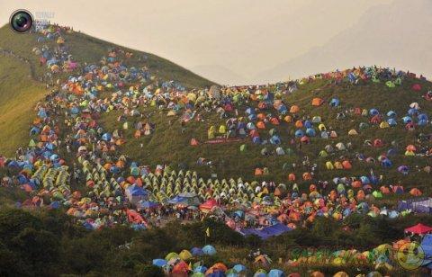 Международный фестиваль кемпинга в Китае