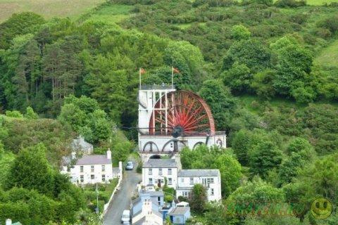 Колесо Леди Изабелла - самое большое водоподъемное колесо