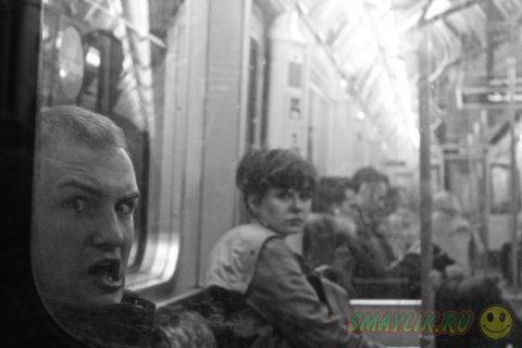 Яркие кадры из будней  общественного транспорта