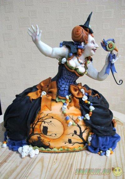 Необычные торты на  Хэллоуин