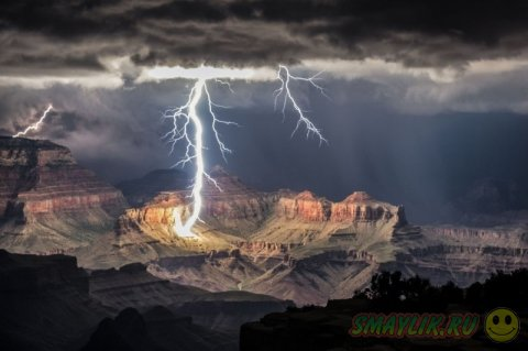 Ночные снимки Гранд Каньона