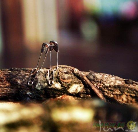 Необычная история булавки