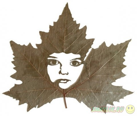 Искуство резьбы по листьям в работах Лоренцо Дюрана