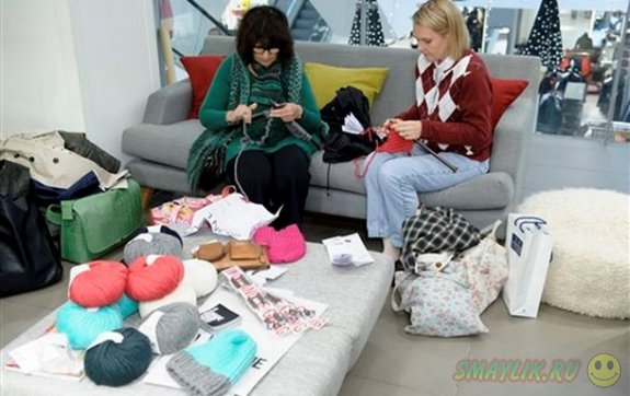 В Норвегии соревновались в скорости вязания свитера