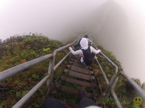 Лестница, уходящая в небо