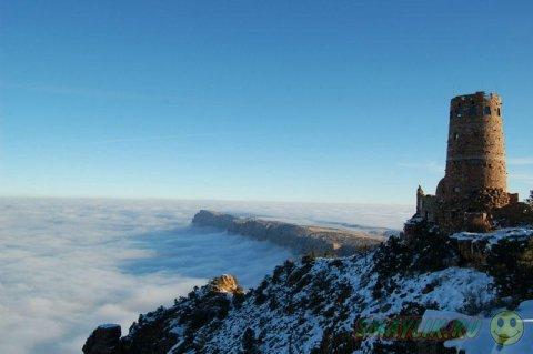 Туман в Гранд-Каньоне