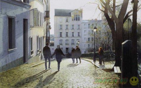 Гиперреалистичные картины французкого художника  Тьерри Дюваля