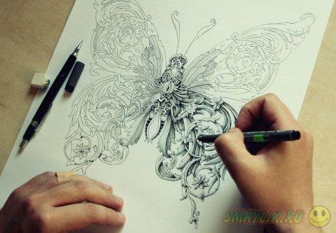 Невероятно сложные иллюстрации Алекса Конахина