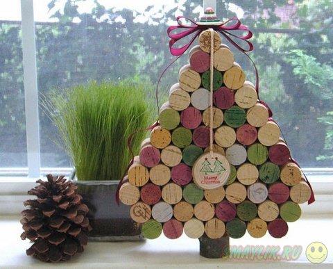 Креативные идеи новогодней елочки