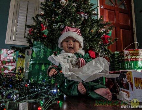 Календарь в подарок малышу
