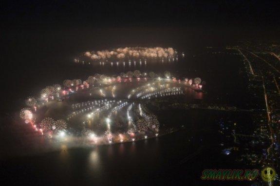 Грандиозный фейерверк в Дубаи вошел в Книгу рекордов Гиннесса