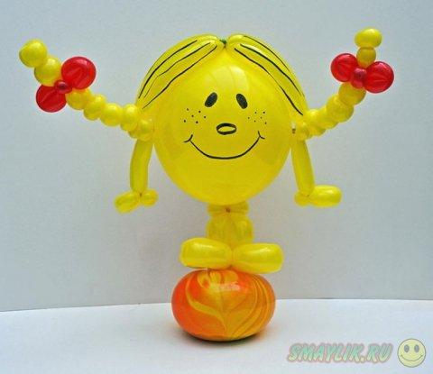 Удивительные модели из воздушных шаров