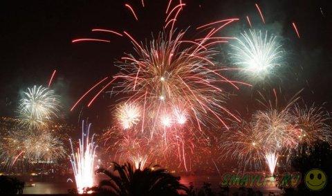Красочные и яркие фейерверки со всего мира