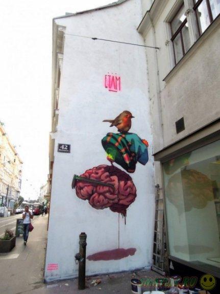Сюрреалистические рисунки польского дуэта Etam Cru