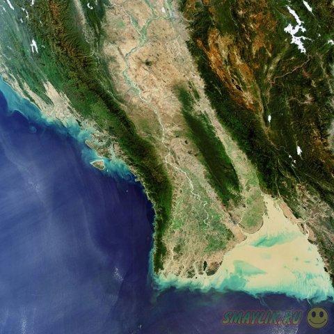 Коллекция снимков Земли от ESA