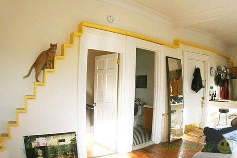Предметы интерьера с заботой о домашних питомцах