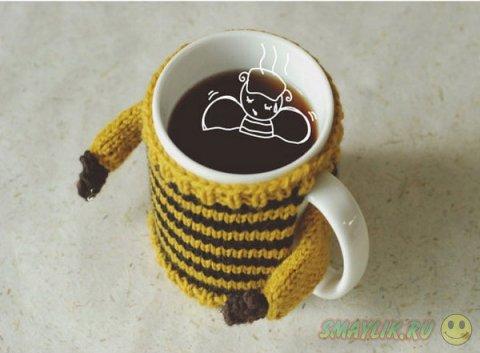 Уютный свитер для любимой кружки