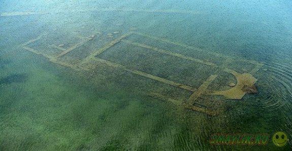 В Турции на дне озера обнаружили древний христианский храм