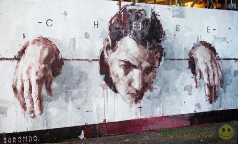 Самое интересное в мире стрит-арта  в марте 2014