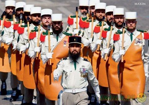 Самые странные военные формы в мире